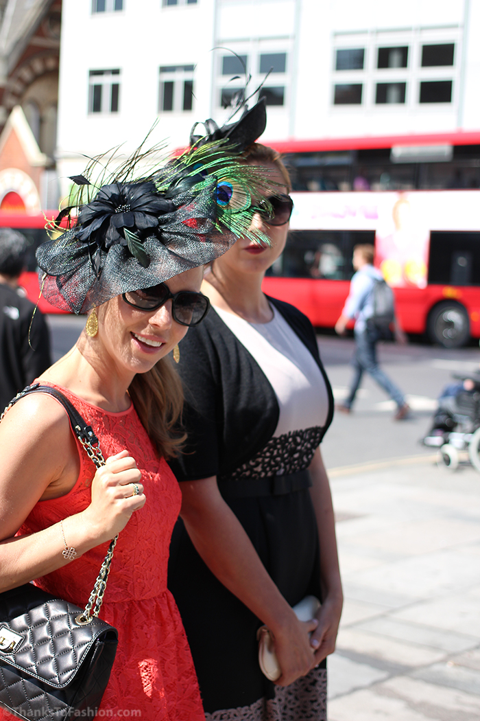 Dress code for the Ascot racecourse