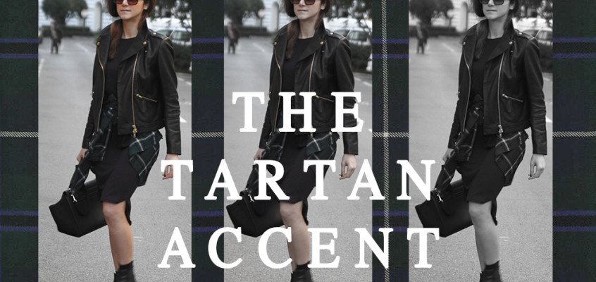 The tartan accent