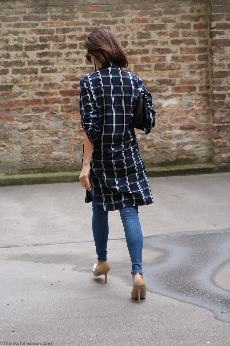 Dress over pants - shirt dress